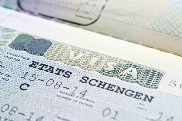 Mẫu visa Schengen