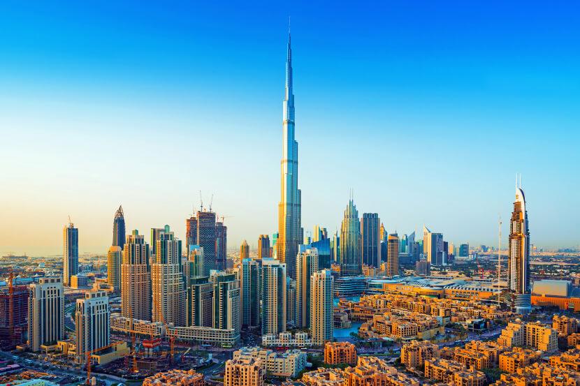 Đất nước Dubai xinh đẹp và giàu có
