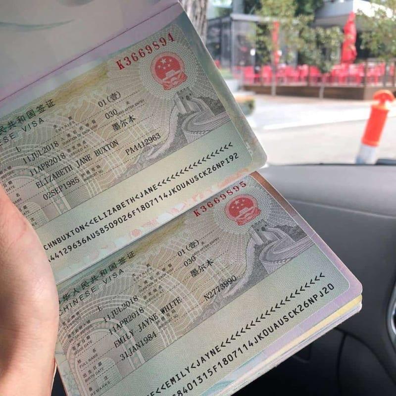 Làm visa Trung Quốc du lịch mất khoảng 4 ngày làm việc