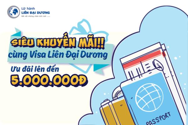 Visa Liên Đại Dương chào hè 2019: Ưu đãi lên đến 5.000.000đ
